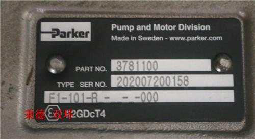 派克液压泵 F1-101-R-000 (3781100)